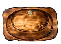 Handmade tea tray # 32562 wood cedar