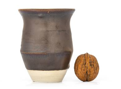 Vessel for mate kalabas # 32830 wood firingceramic